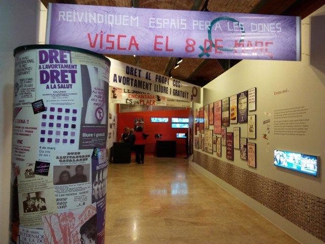 La exposición 'Dones: ficcions i realitats' en el Museu d'Història de Catalunya