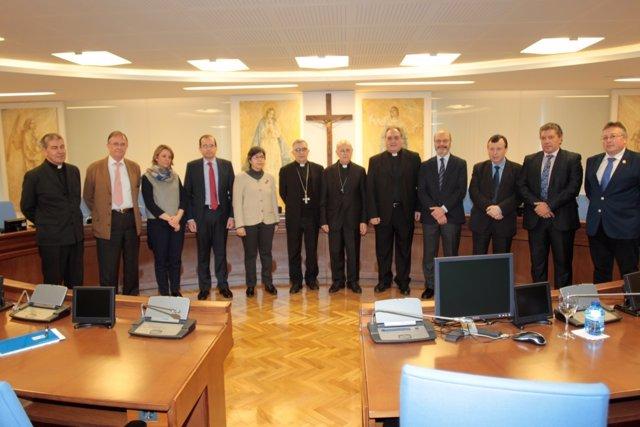 Primera reunión de la mesa eclesial para el diálogo educativo