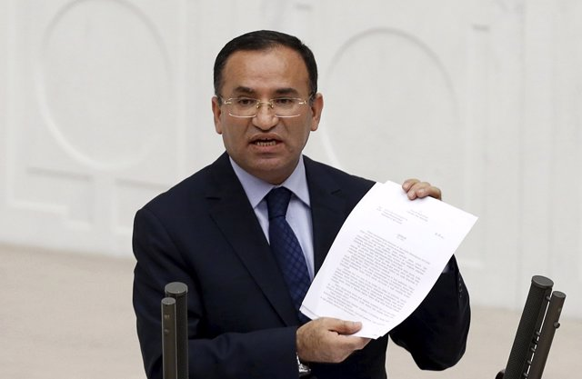 Bekir Bozdag, ministro de Justicia turco