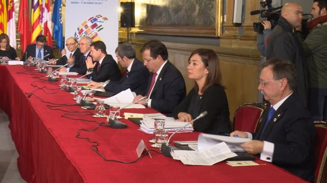Armengol en Conferencia de Presidentes