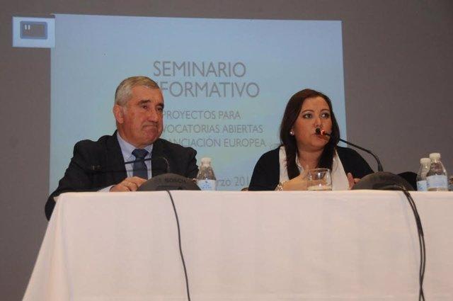 Carrillo, durante la clausura del encuentro