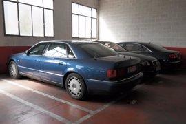 Sacan a subasta tres coches de alta gama del anterior Consell y llevan a chatarra el Audi de Zaplana
