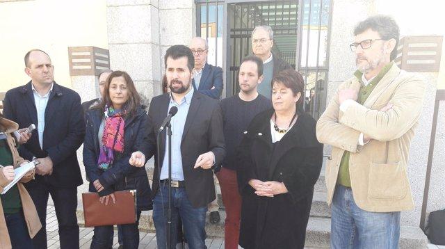 Segovia: Tudanca y Luquero presenta la moción de igualdad