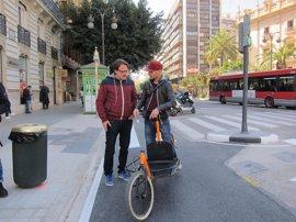 Las bicis podrán circular por el anillo ciclista de València al completo desde este viernes