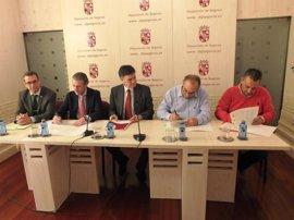 Acuerdo para crear el consejo del Diálogo Social de Segovia