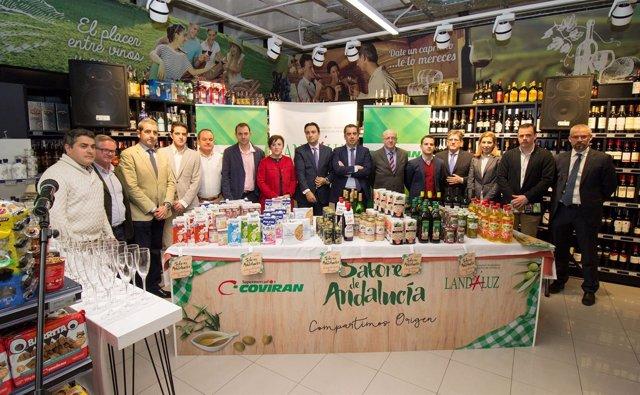 Campaña Sabores de Andalucía, en Covirán.