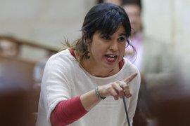 """Teresa Rodríguez saluda la denuncia de la Fiscalía: """"Tiene que saberse que este tipo de agresiones no son impunes"""""""