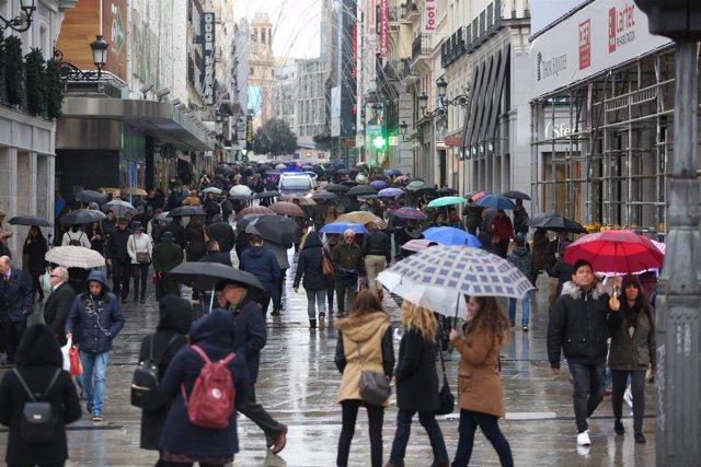 Recursos de lluvia en Madrid, lluvias, llover, lloviendo