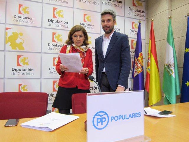 Botella y Lorite en la Diputación
