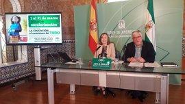 Junta oferta 8.475 nuevas plazas escolares en Almería para el próximo curso