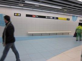 La L9 Sur de Metro de Barcelona logra récords de pasajeros doblando las validaciones habituales