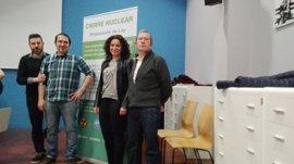 Podemos La Rioja, IU, Cambia Logroño y Equo participan en Zaragoza en la jornada nacional sobre el futuro de Garoña