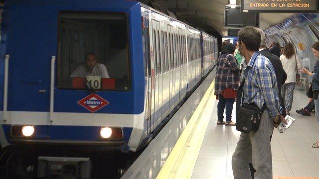 Paros en el Metro de Madrid los días 24 y 27 de febrero