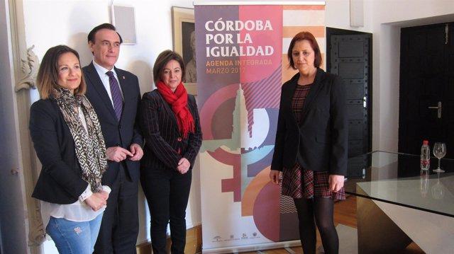 Presentación de la agenda integrada 'Córdoba por la Igualdad'