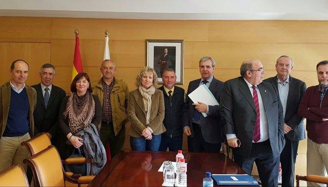 Reunión Gobierno-AMA