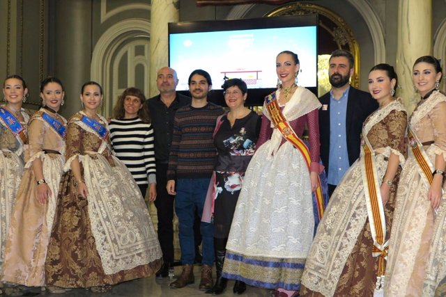 La Diputación lanza un vídeo que muestra el patrimonio lingüístico de  Fallas