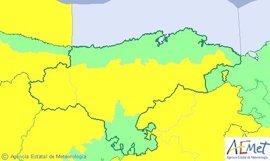 Cantabria, en riesgo por nevadas y vientos de 90 km/h