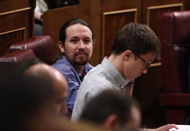 Iñigo Errejón y Pablo Iglesias, de Podemos