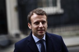 Macron critica las políticas proteccionistas y medioambientales de Trump