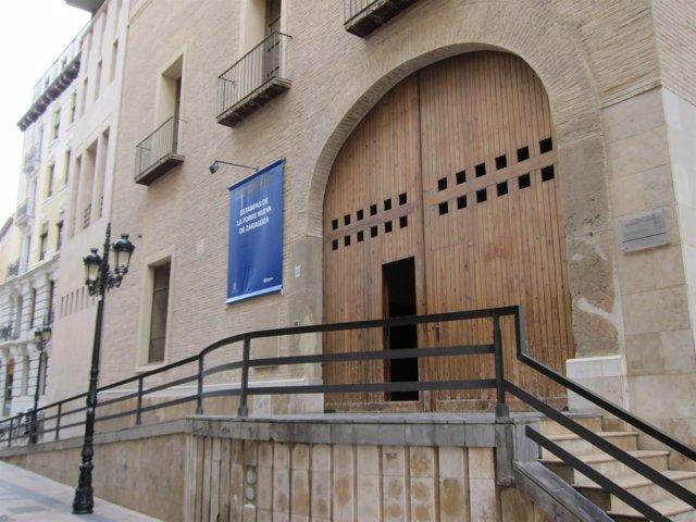 Fachada del Palacio de Montemuzo