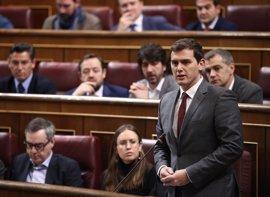 """Rivera preguntará a Rajoy por qué """"se opone"""" a que el Congreso investigue la financiación del PP"""