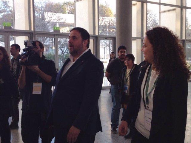 Junqueras participa a en unas jornadas sobre infraestructuras y financiación
