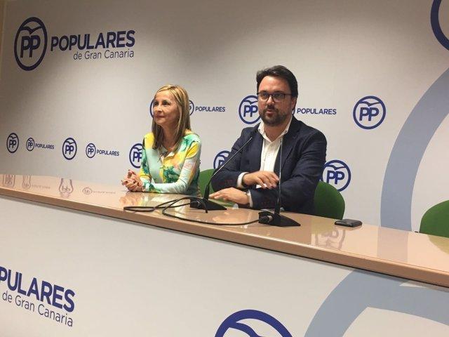 Presidente del PP de Canarias, Asier Antona
