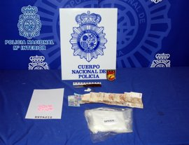 Dos detenidos y droga incautada por valor 25.000 euros, en una operación policial en Carnavales en Logroño
