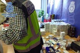 Diez detenidos en Almería de una red de venta ilegal de medicamentos, anabolizantes y tráfico de cocaína