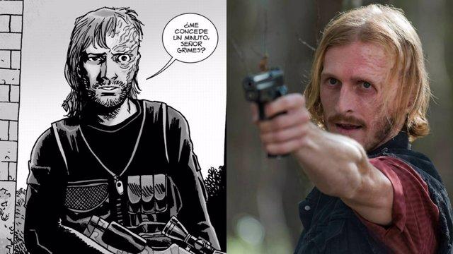 Dwight en The Walking Dead