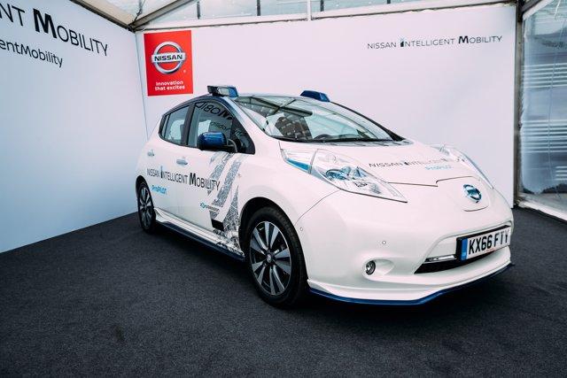 Demostración del coche autónomo de Nissan