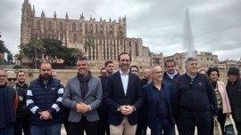 """Bauzá apela a la unidad para gobernar en Baleares y Company dice que su candidatura es de """"todo el PP"""" y caben todos"""