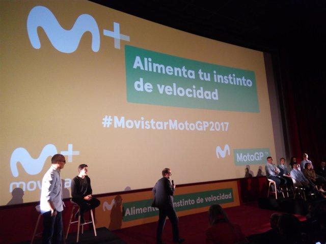 Presentación de Movistar MotoGP