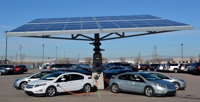 Supercargador para vehículos eléctricos
