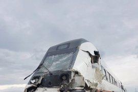 Fallece el conductor de un camión arrollado por un tren a su paso por Oropesa