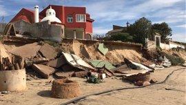 El Gobierno destinará 4,5 millones a reparar daños del temporal de febrero en el litoral andaluz