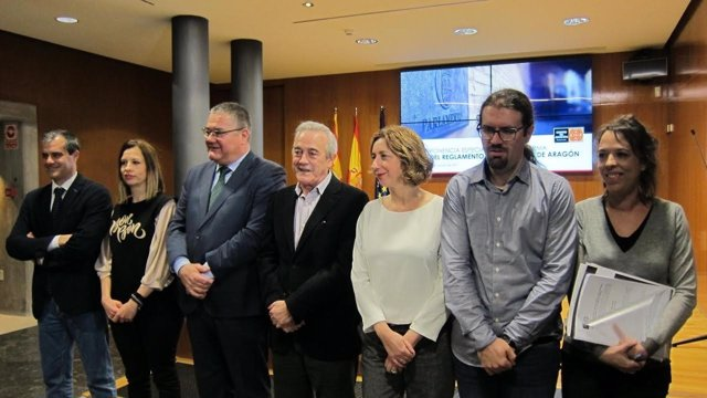 Presentación del nuevo reglamento en las Cortes.