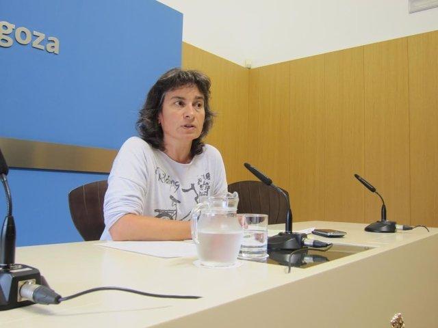 La vicealcaldesa y consejera municipal de Derechos Sociales, Luisa Broto.