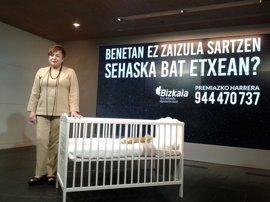 """Bizkaia necesita 10 familias de acogida """"urgente"""" para niños de menos de 3 años"""