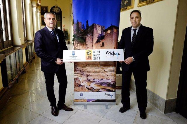 Julio Andrade presenta estrategia de Málaga en ITB