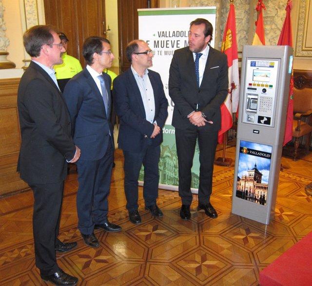 Presentación de las novedades del sistema de la ORA de Valladolid