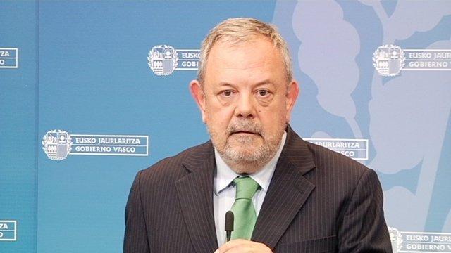 Pedro Azpiazu, consejero de Economía y Hacienda