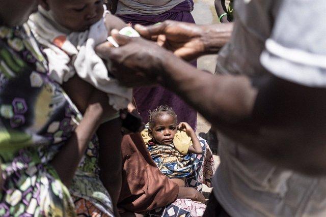 Niños atendidos por desnutrición