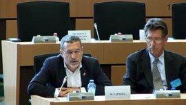 Laparra presenta en el Parlamento Europeo la política de Navarra sobre inserción laboral y renta garantizada