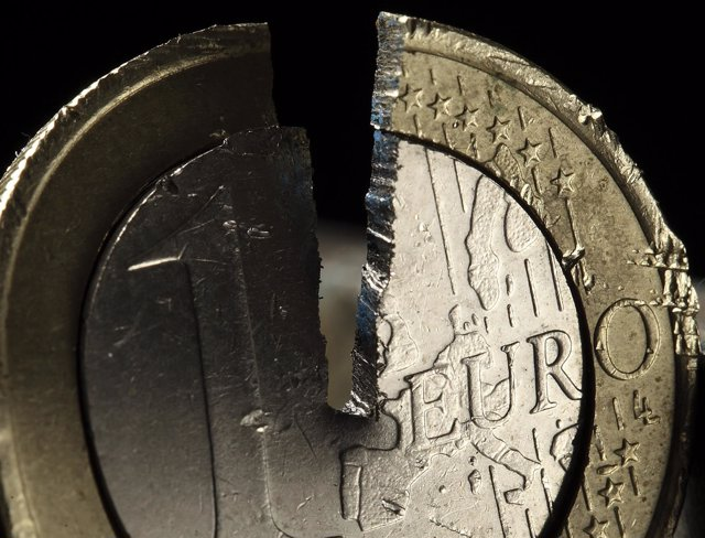 Moneda de un euro rora