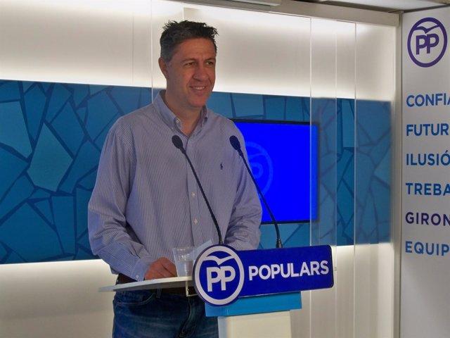 El coordinador del PP de Catalunya, Xavier García Albiol