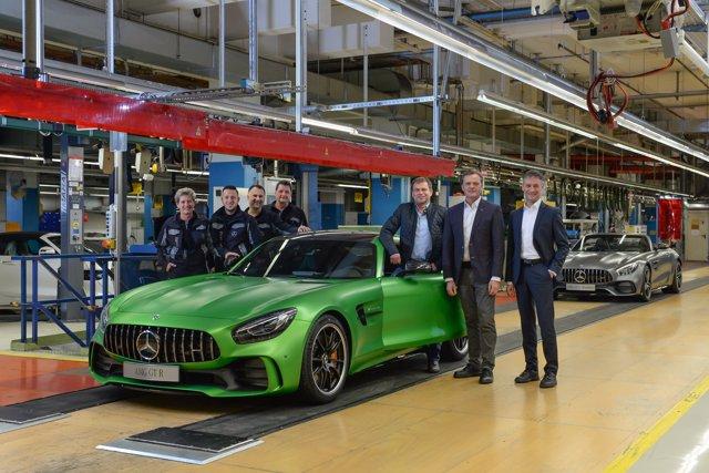 Producción del Mercedes-AMG GT en Sindelfingen (Alemania)