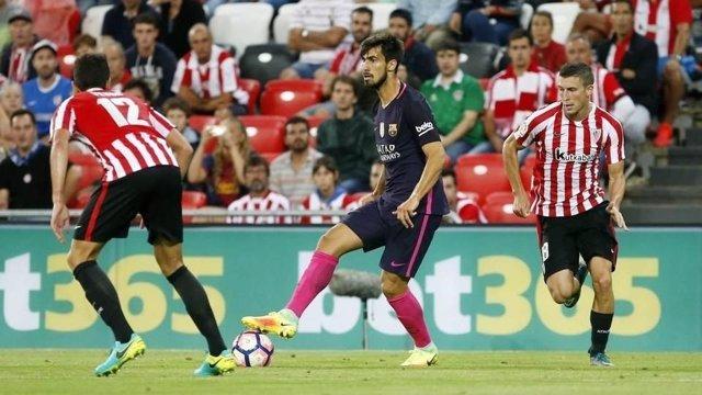 André Gomes con el FC Barcelona