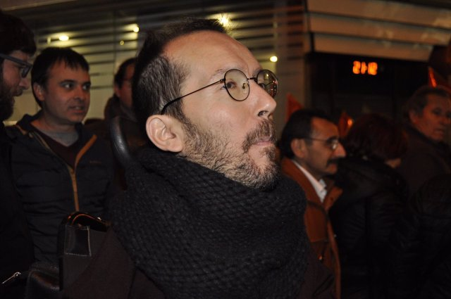Pablo Echenique (Podemos).
