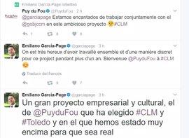 """La promotora del futuro parque temático de Toledo se muestra """"encantada de trabajar conjuntamente con C-LM"""""""